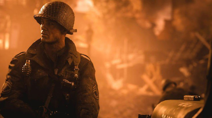 Call of Duty: WW2 Incendiary Rounds
